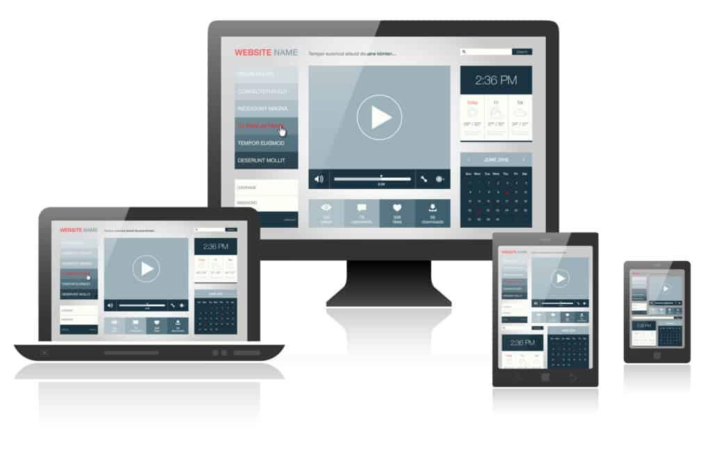 MG WEB - design responsive